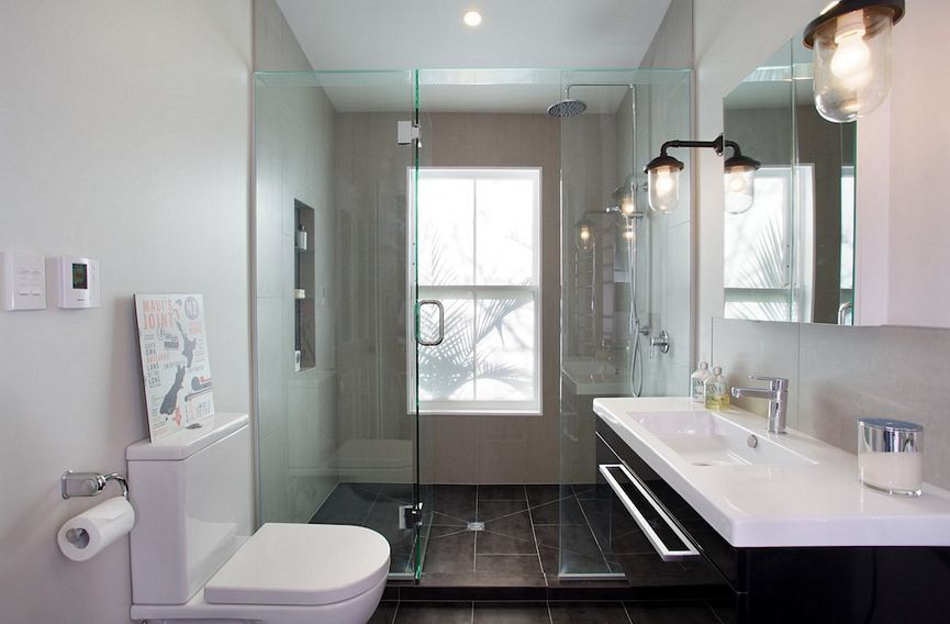 Templer interiors bathroom design auckland by templer for Small bathroom designs nz