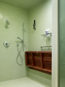 tile design, speciality bathroom design, dog shower